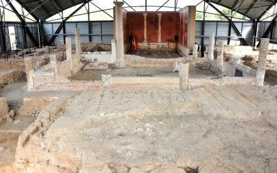 El yacimiento arqueológico de Complutum y la Casa de Hippolytus reabren tras el paso de Filomena