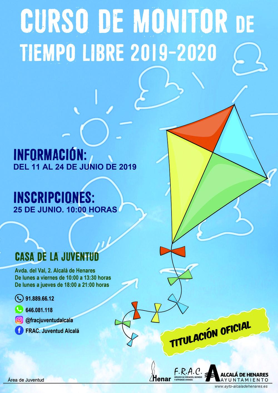 Nuevo Curso De Monitor De Tiempo Libre De La Casa De La Juventud Ayuntamiento De Alcalá De Henares