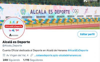 """El Ayuntamiento pone en marcha el nuevo canal de comunicación en redes sociales """"Alcalá es Deporte"""""""