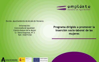 """El Ayuntamiento pone en marcha el programa """"Empléate desde la igualdad"""" para mejorar la inserción socio laboral de las mujeres"""