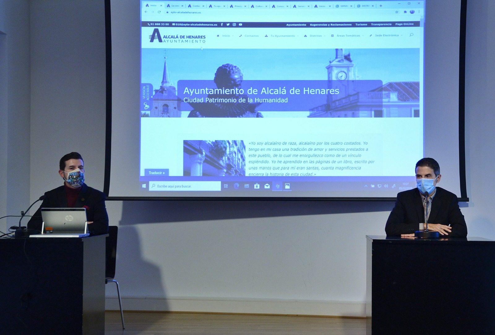 El Ayuntamiento De Alcalá Estrena Hoy Un Nuevo Portal Web Intuitivo Accesible Seguro Moderno Y Dinámico Ayuntamiento De Alcalá De Henares