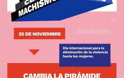"""El Ayuntamiento """"cambia la pirámide de la violencia machista"""" con las """"Jornadas de Conmemoración del 25 noviembre"""""""