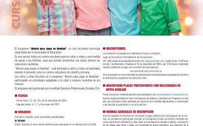 """Alcalá de Henares abre para """"Jugar en Navidad"""" el colegio público La Garena"""