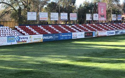 El Ayuntamiento instala 4.000 asientos del antiguo Vicente Calderón en el Estadio Municipal del Val