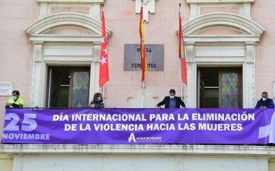 El Ayuntamiento de Alcalá de Henares, con la igualdad y contra la violencia machista