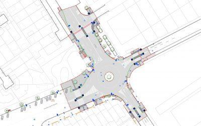 Mejora la movilidad y la accesibilidad en la glorieta de la calle Lope de Figueroa y calle Ávila