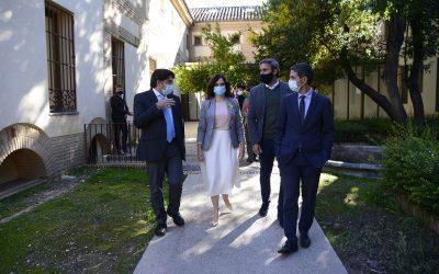 El alcalde de Alcalá y la presidenta de la Comunidad de Madrid han visitado esta mañana la rehabilitación del Convento de Capuchinos y la renovación del entorno de Demetrio Ducas