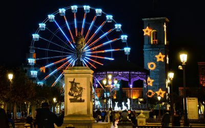 La iluminación navideña ya ha sido encendida en Alcalá de Henares