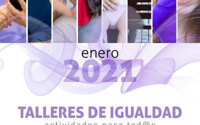 Últimos días para inscribirse en los nuevos Talleres de Igualdad del Ayuntamiento de Alcalá de Henares
