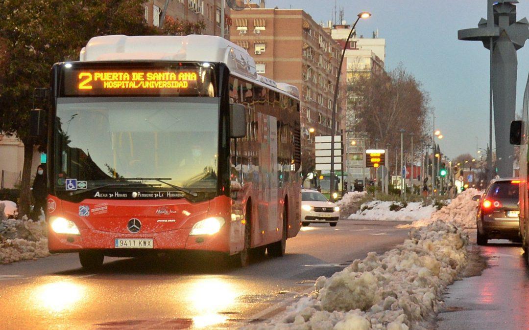 Ya funcionan las líneas 6 y 8 de autobús urbano de Alcalá de Henares