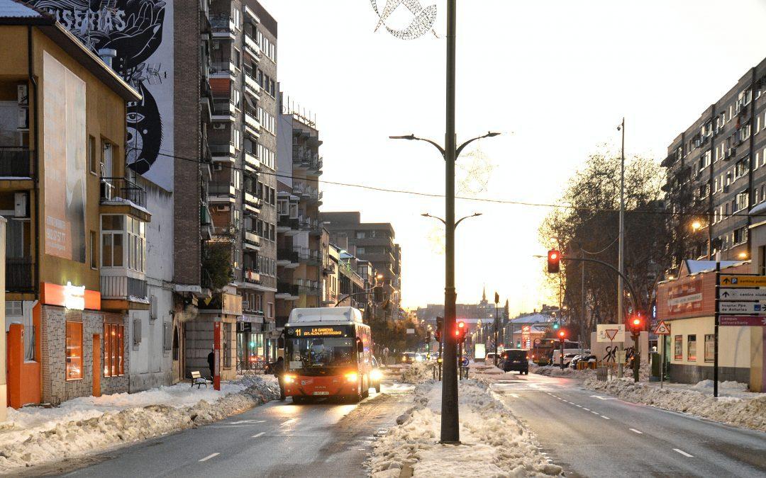 Hoy comienzan a funcionar las líneas 3, 5 y los búhos de autobuses urbanos de Alcalá