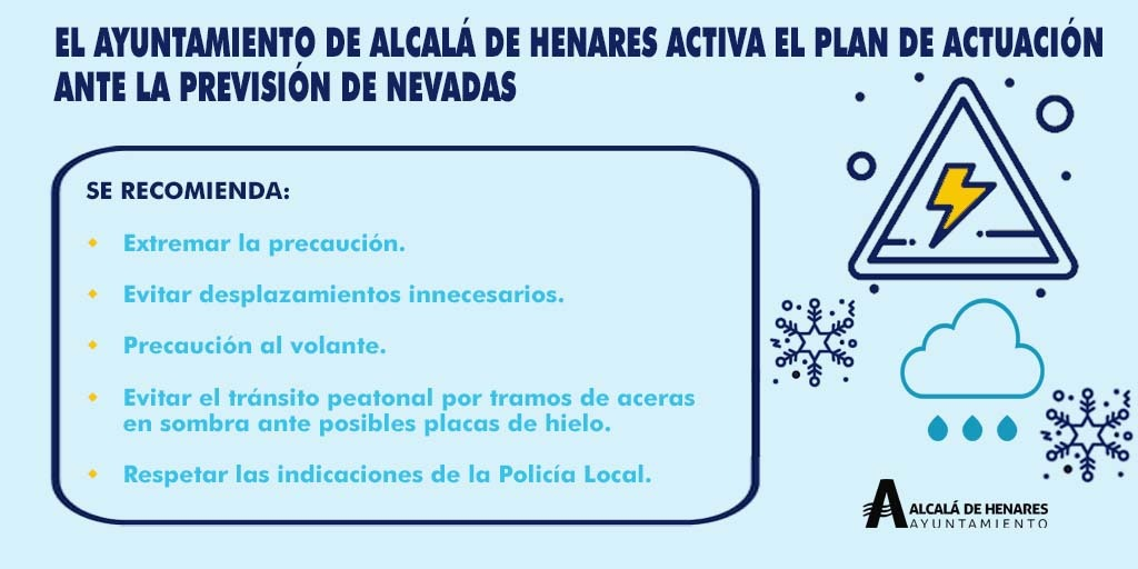 El Ayuntamiento pone en marcha el dispositivo especial ante las inclemencias invernales