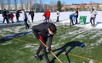 El Ayuntamiento de Alcalá agradece la colaboración de los clubes para poner al día las instalaciones deportivas municipales