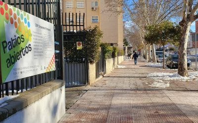 Los centros educativos de Alcalá listos para su apertura el lunes tras el temporal Filomena