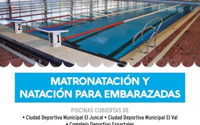 El Ayuntamiento habilita nuevos servicios de matronatación y natación para embarazadas en la Ciudad Deportiva Municipal