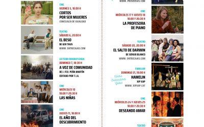 La Concejalía de Cultura presenta la programación del Teatro Salón Cervantes para el mes de marzo