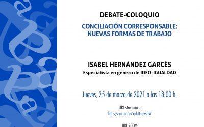 Aula Abierta dedicará su sesión del jueves a la Conciliación Corresponsable