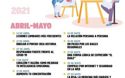 Nuevo ciclo de conferencias y talleres para personas mayores de Alcalá de Henares