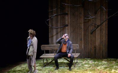 """El sábado el Teatro Salón Cervantes recibió a Isabel Ordaz y Santiago Molero que protagonizaron """"El Beso"""""""