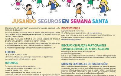 """Los colegios La Garena y Miguel Hernández abrirán sus puertas """"para jugar"""" en Semana Santa"""