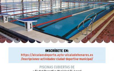 Abiertas las inscripciones para las nuevas plazas disponibles en actividades acuáticas municipales