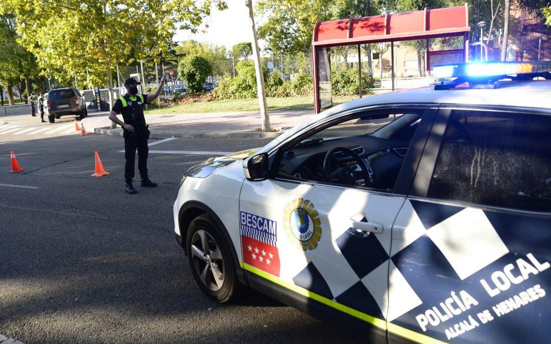 La Policía Local de Alcalá pone en marcha una campaña extraordinaria de inspección de vehículos VTC