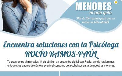 Rocio Ramos-Paúl, Supernanny, mantendrá un encuentro online con familias de Alcalá de Henares