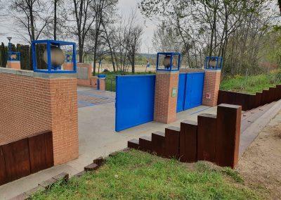 Renovación mobiliario parques
