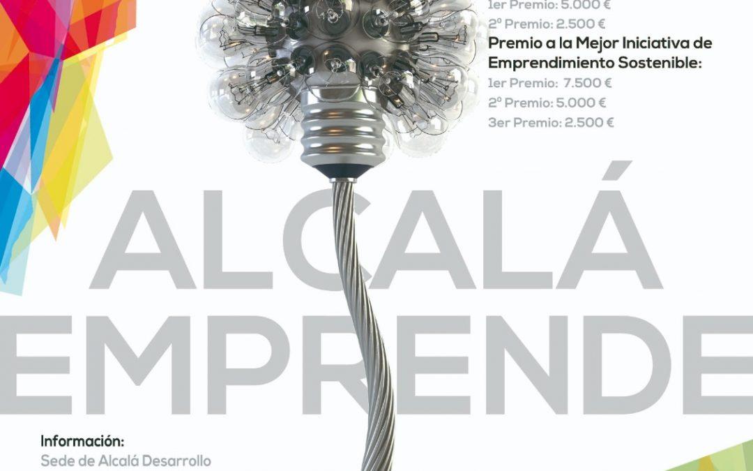 Últimos días para inscribirse a la VIII edición de los #PremiosAlcaláEmprende