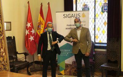 El Ayuntamiento firma un convenio con la entidad SIGAUS para la creación de un bosque urbano en el Parque Lineal Félix Rodríguez de la Fuente