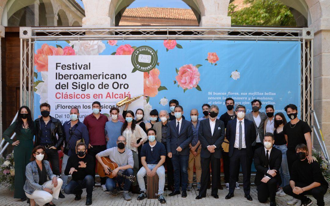 El Festival Clásicos en Alcalá cumple 20 ediciones transformándose en el Festival Iberoamericano del Siglo de Oro de la Comunidad de Madrid. Clásicos en Alcalá