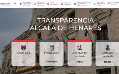 El Ayuntamiento presenta su nuevo Portal de Transparencia y Datos Abiertos
