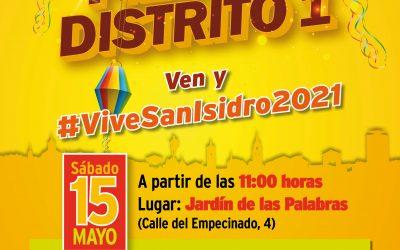 El Distrito I celebra San Isidro con todas las medidas de seguridad por Covid-19