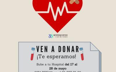 El Hospital Universitario Príncipe de Asturias acoge una nueva campaña de donación de sangre del 17 al 28 de mayo