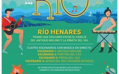 """""""Música en el Río"""" trae directos en acústico este sábado en el entorno del Henares"""