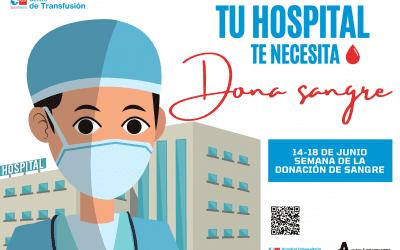 El Ayuntamiento de Alcalá de Henares anima a donar sangre para cubrir las necesidades hospitalarias
