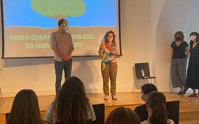 """El IES Alonso Quijano presenta su proyecto de Aprendizaje y Servicio """"Green Quijano"""""""