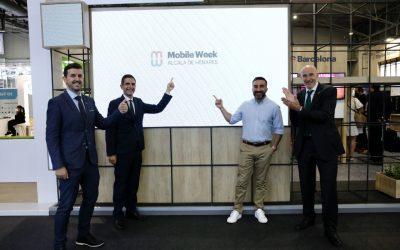 Encuentro entre el Ayuntamiento de Alcalá de Henares y MWCapital en el MWC Barcelona 2021