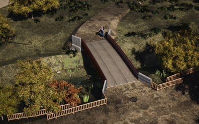 El Ayuntamiento aprueba el proyecto para construir una pasarela sobre el arroyo Camarmilla