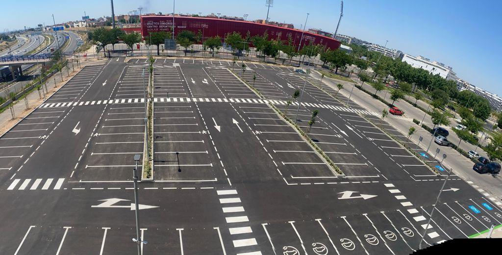 El Ayuntamiento amplía el aparcamiento del Complejo Deportivo Espartales