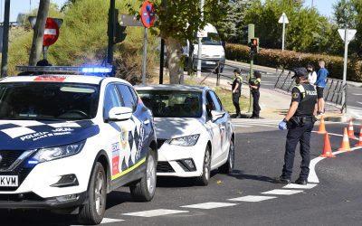 La Policía Local se suma a la campaña de la DGT de control de tasa de alcohol y presencia de drogas en conductores