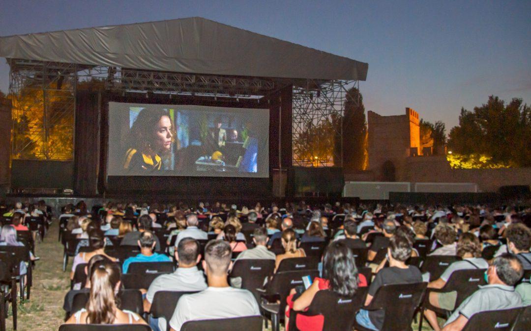 Más de 10.000 espectadores han disfrutado de Alcine de Verano durante el mes de julio