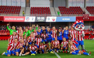 El Atlético de Madrid, campeón del I Trofeo Ciudad de Alcalá by MadCup de Fútbol Femenino