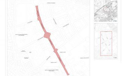 El Ayuntamiento mejora la accesibilidad y la movilidad peatonal en las calles Dámaso Alonso y Villalbilla