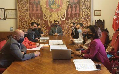 La Oficina Municipal Horizonte Alcalá 2030 estudia el proyecto de reforma y mejora de la zona oeste del Casco Histórico