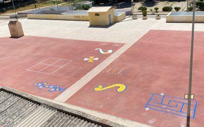El Ayuntamiento efectúa mejoras en la red de saneamiento en el aparcamiento de la Plaza Andrés Manuel del Río