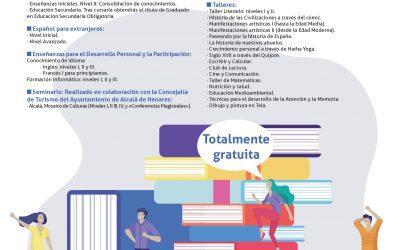 La Escuela Municipal de Adultos abre hoy el plazo de preinscripción de su oferta formativa