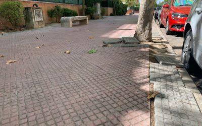 El Ayuntamiento continúa reformando la Avenida Gustavo Adolfo Bécquer, en Espartales