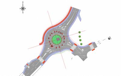 El Ayuntamiento informa: corte parcial del tráfico en la glorieta de acceso a Ciudad del Aire