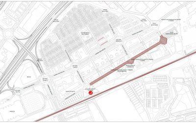El Ayuntamiento mejora la movilidad y amplía la zona peatonal en la calle Arturo Soria, en el barrio de La Garena
